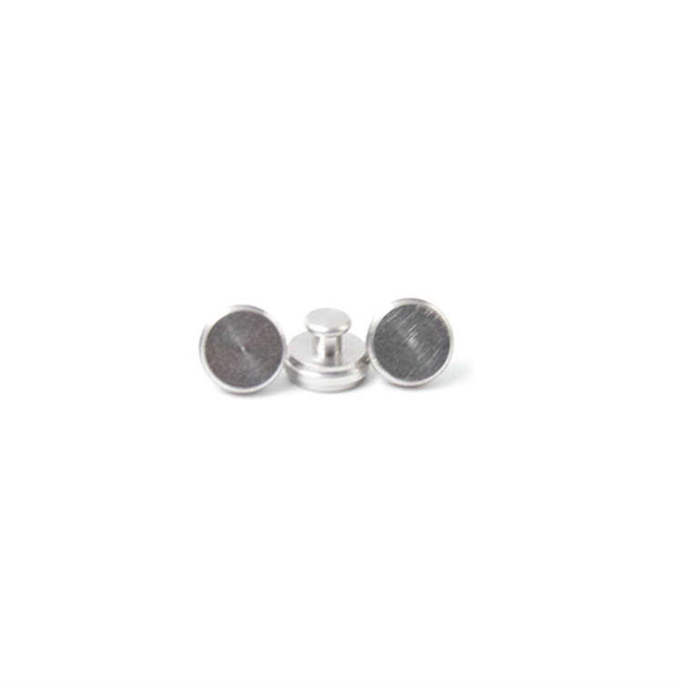 2020 hot sale stainless steel satin brushed press button