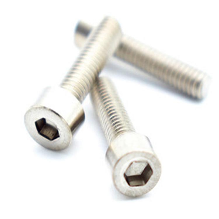 Din912 m3 hex head titanium allen bolt socket cup screw