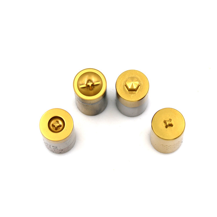 High Quality Screw Second Header Punch With TIN Coated