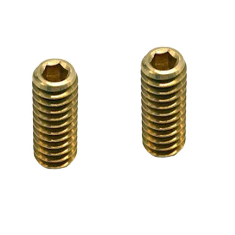 Din 944 standard brass metric thread small grub set screw