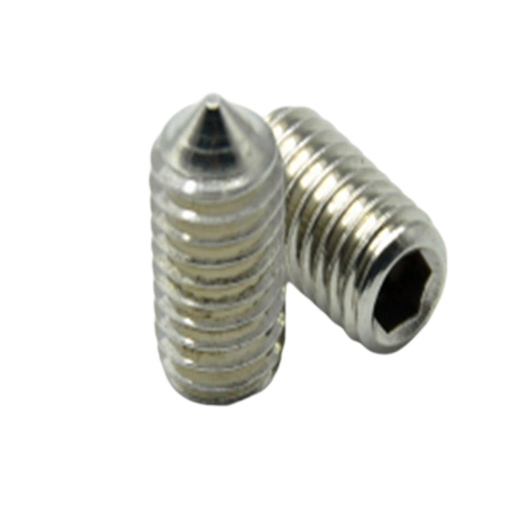 DIN914 Hex Socket Head Set Screw with pointed tail