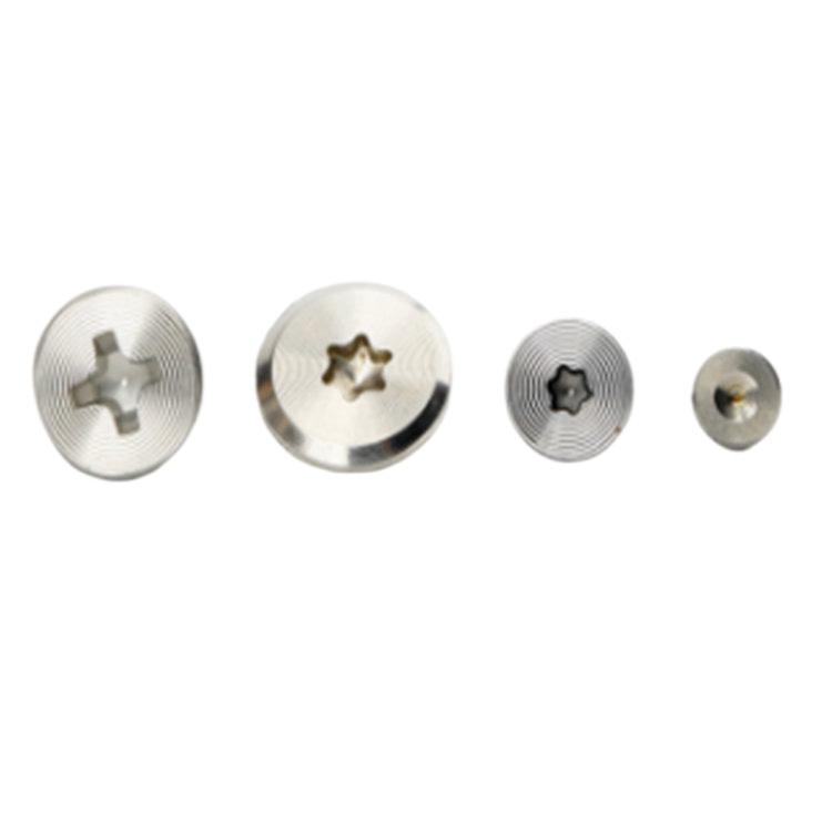 CD pattern Cross recessed stainless steel low cup screw