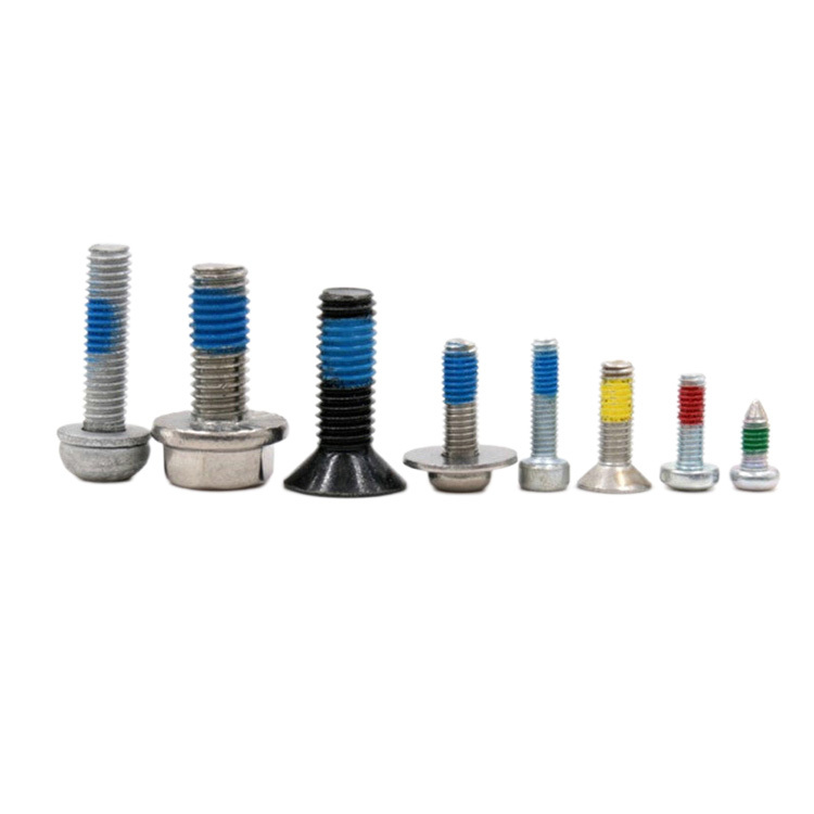 All styles customized screws with Nylon patch