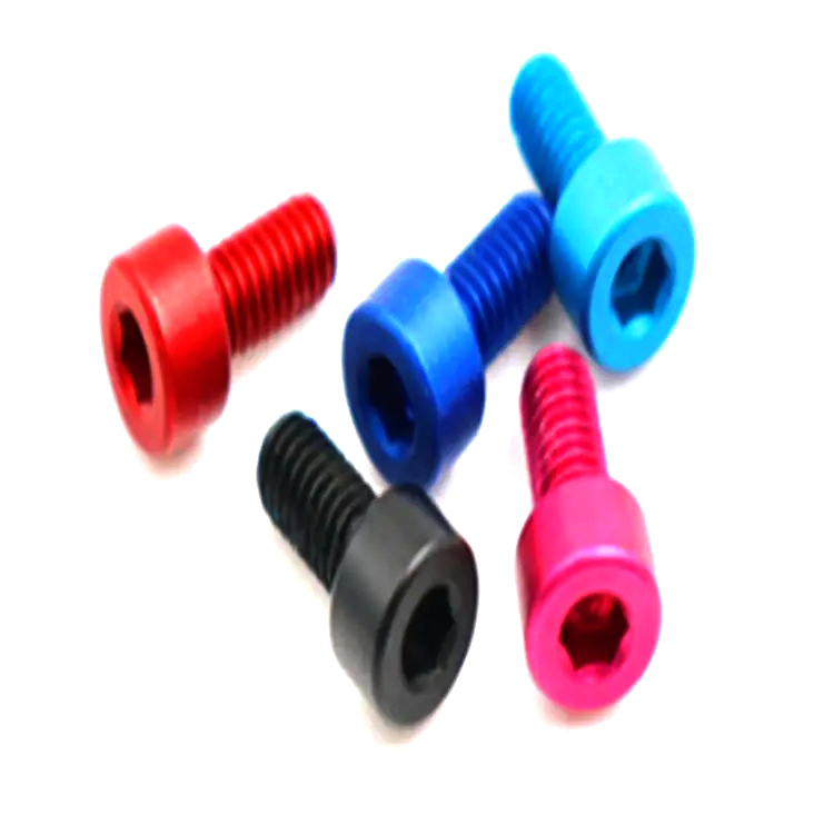 Hot products anodized aluminum hexagon socket head cup screw